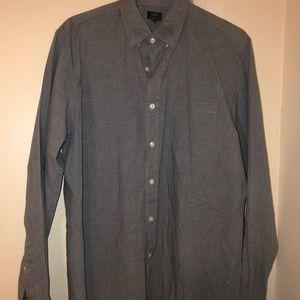 Heathered Cotton Shirt *J. Crew*